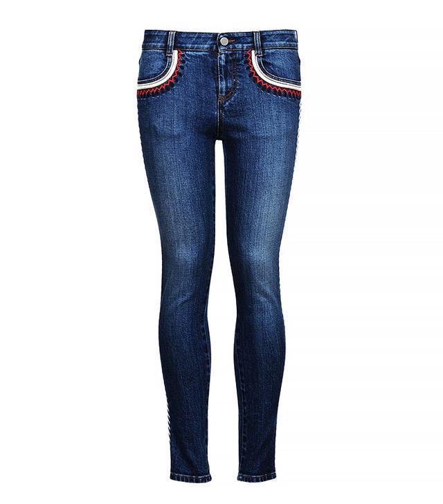 Stella McCartney Zigarette Skinny Ankle Grazer Jeans