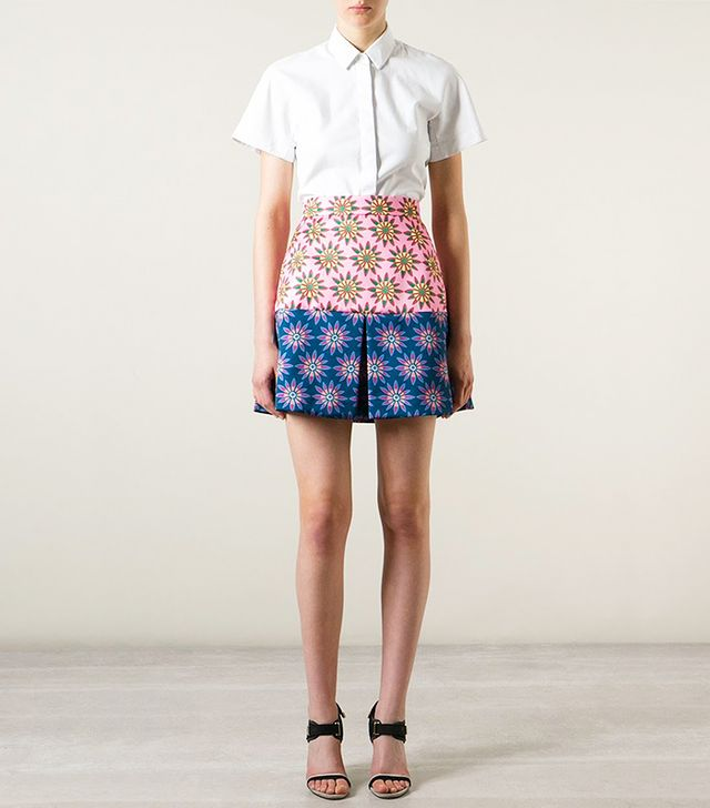 House of Holland Floral Skirt