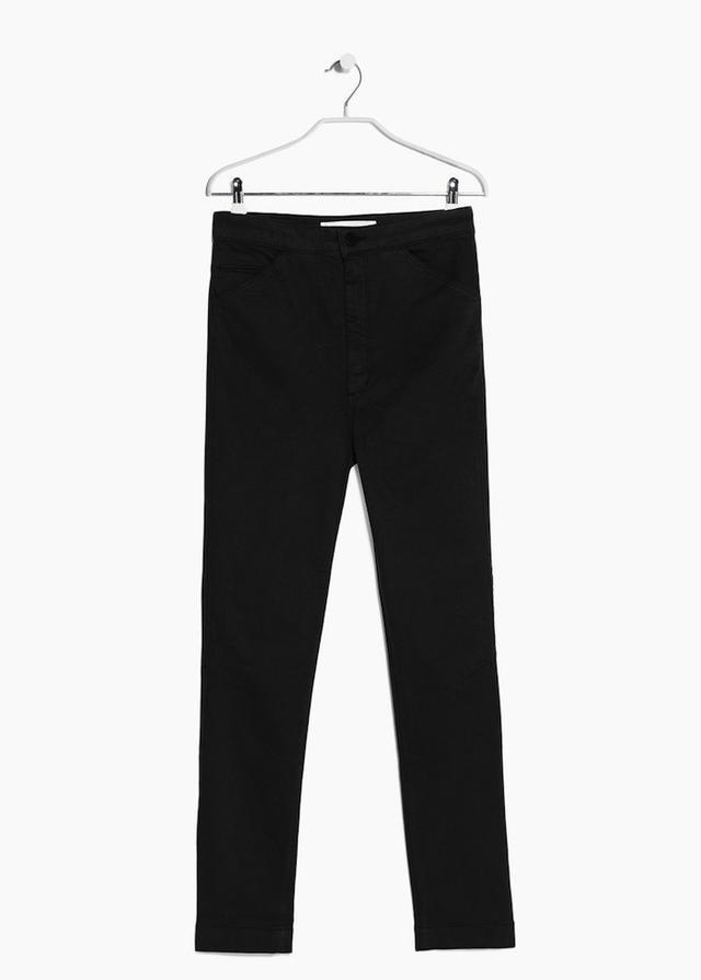 Mango Premium High Waist Jeans