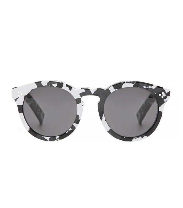 Illesteva Leonard II Sunglasses in White Camo