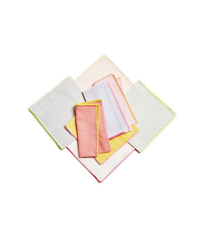 ABCdna Glo Neon Piping Napkins