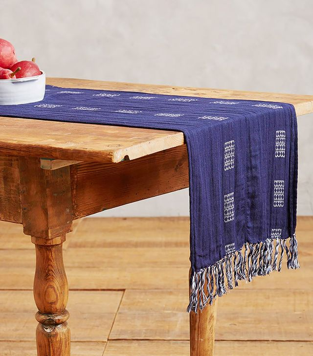 Ace & Jig Coastal Stripe Table Runner