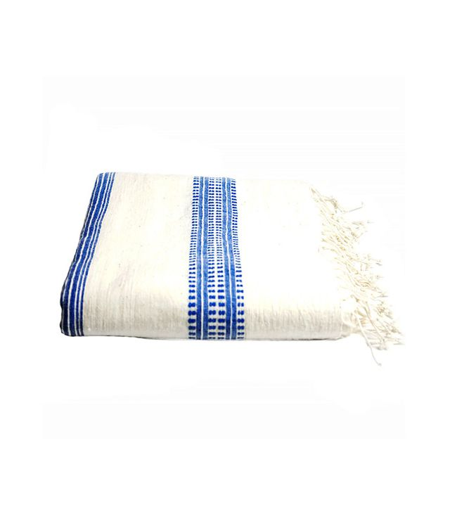 Creative Women Blue Stripe Tablecloth