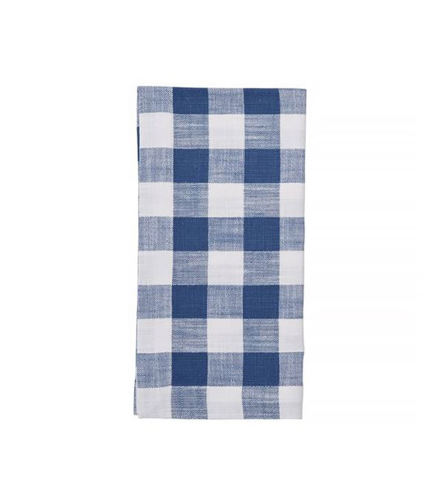 Pottery Barn Gingham Check Napkins