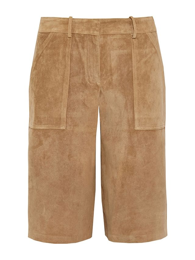Theory Gera Suede Culottes