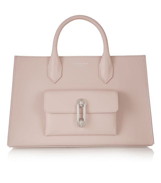 Balenciaga Maillon Work XS Leather Tote