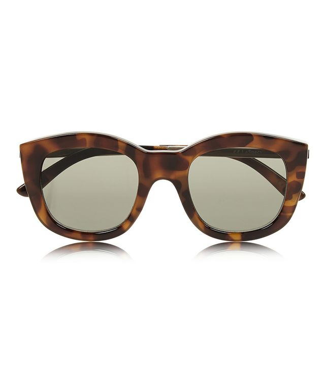 Le Specs Runaways Luxe Cat Eye Acetate Sunglasses