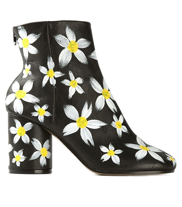 Maison Margiela Hand Painted Ankle Boots