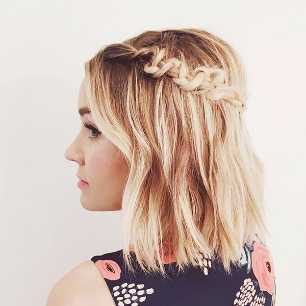 Macramé Braid for Short Hair