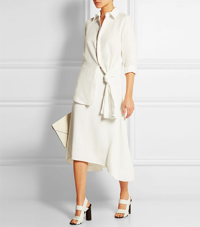 Loewe Knotted Linen Shirt