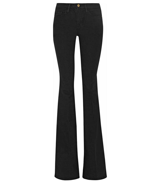 Frame Denim Le Forever Karlie Flare High-Rise Jeans