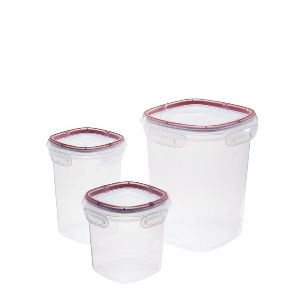 Rubbermaid 3-Piece Lock-It Food Container Set
