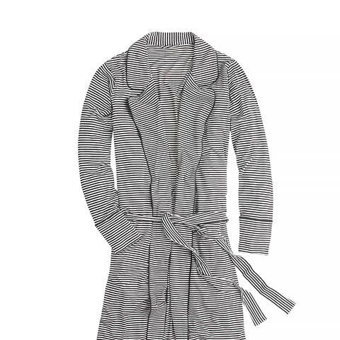 Whisper Jersey Robe in Stripe