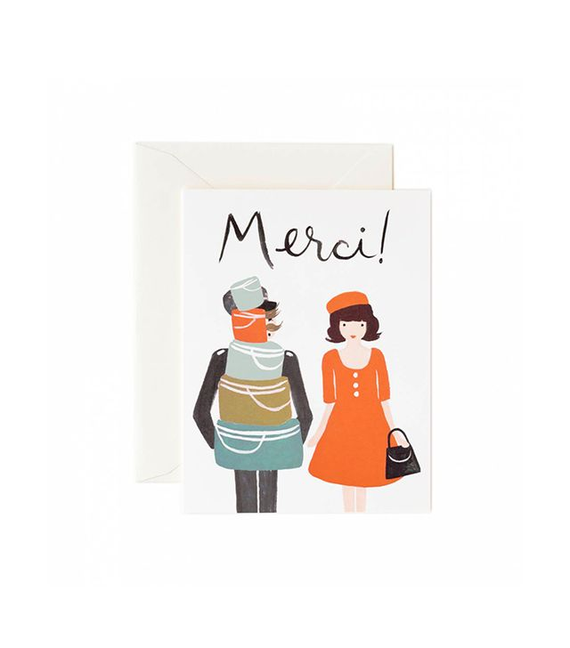 Rifle Paper Co. Merci Greeting Card