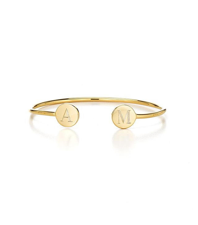 Sarah Chloe Double Elle Round Bangle