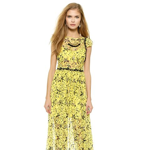 Cherry Blossom Maxi Dress