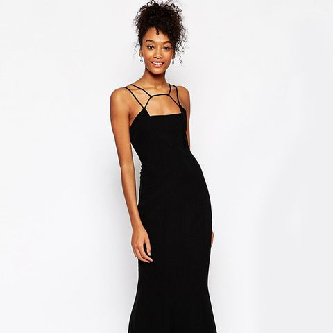 Jade Cage Strap Maxi Dress