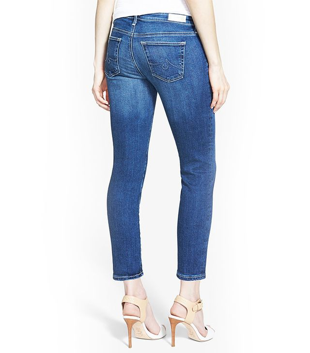 AG Jeans Stilt Crop Skinny Stretch Jeans