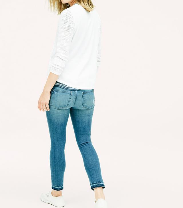 Lou & Grey Skinny Crop Jeans