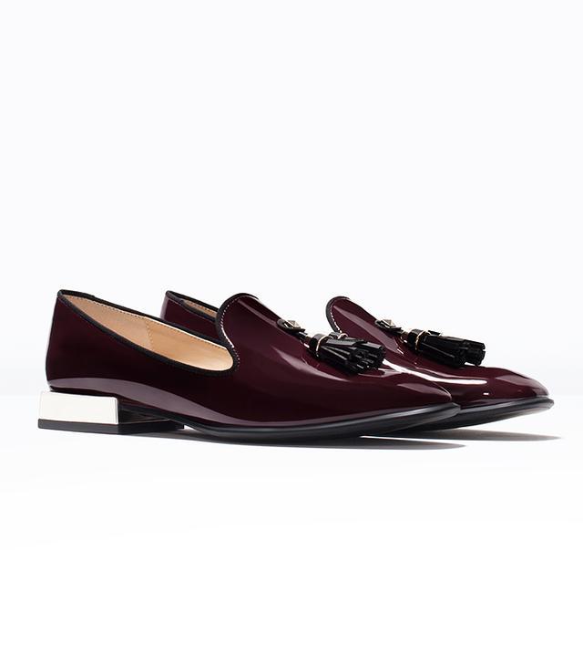 Zara Glossy Flat Shoes