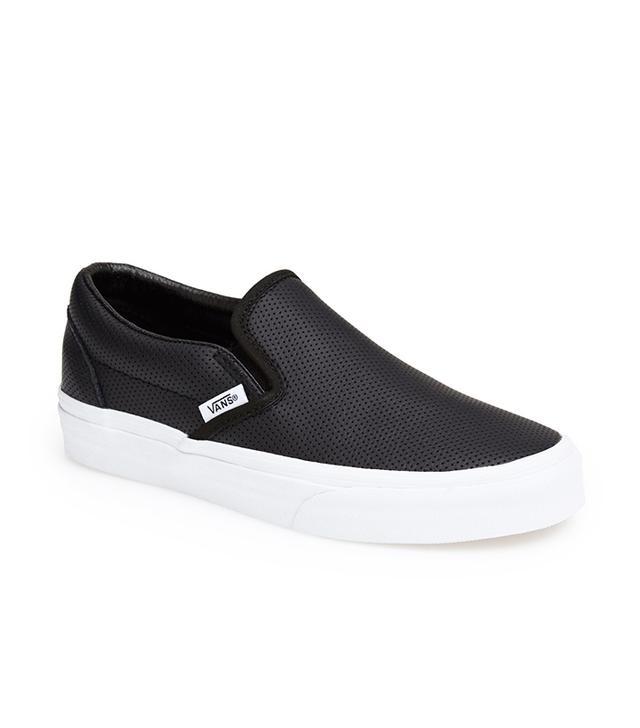Vans Classic Perforated Slip-On Sneakers