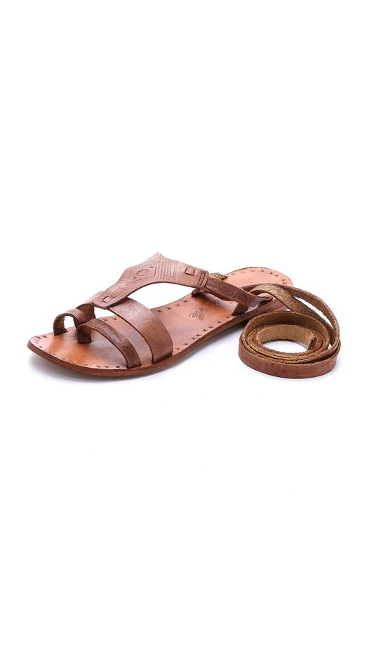 Free People Oliveira Wrap Sandals