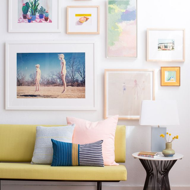 The Emily Henderson Way To Arrange Two Stunning Gallery Walls