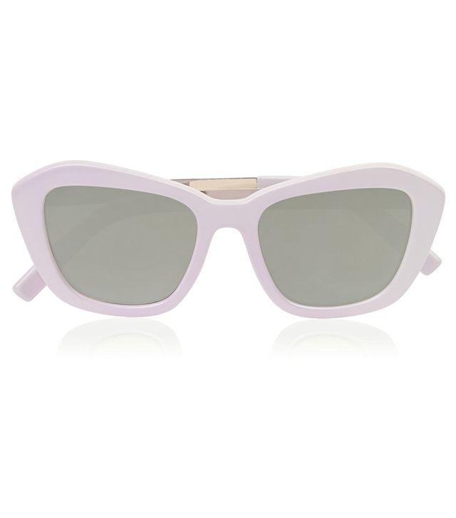 Le Specs Hollywood Boulevard Mirrored Sunglasses