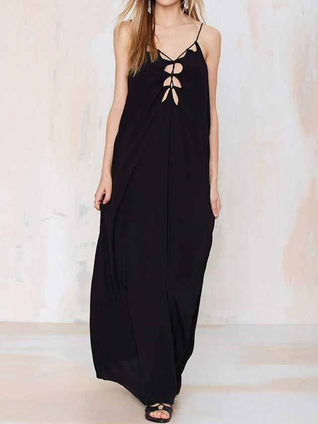 Nasty Gal All Tied Down Maxi Dress