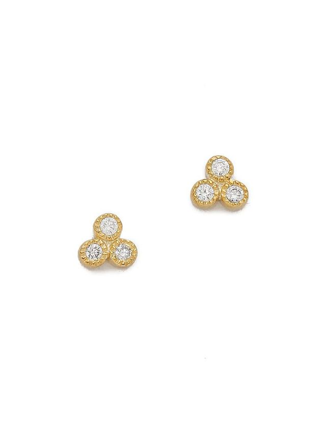Jacquie Aiche Cluster Stud Earrings