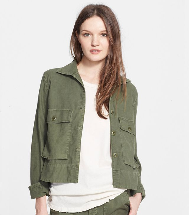 The Great 'The Swingy' Army Jacket