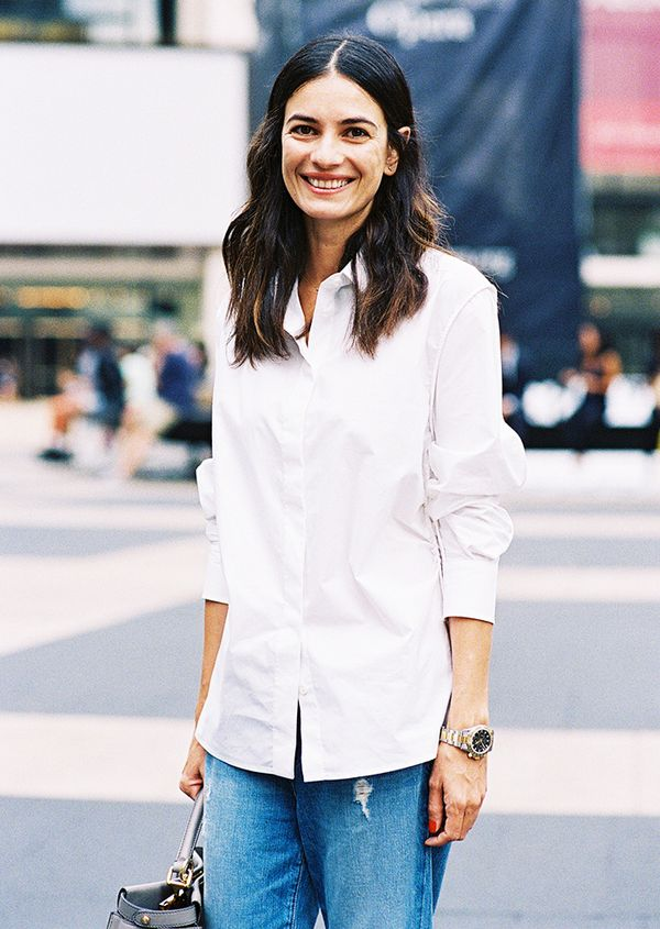 #6: Crisp White Shirt