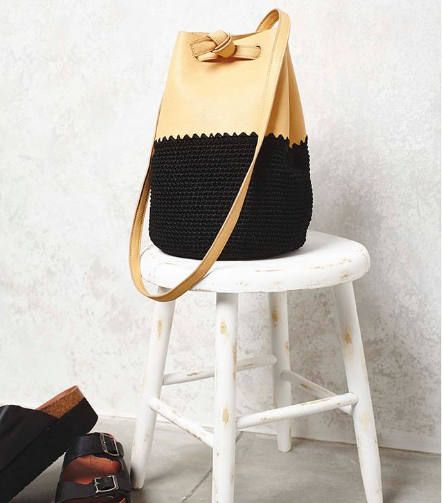 Gracie Roberts Mix Up Crochet Bucket Bag