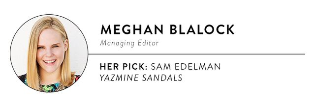 """""""I give Sam Edelman so much credit: The man really knows how to craft an affordable pair of heels that don't hurt. These are my go-to sandals for nighttime events, dinners, and parties; they..."""
