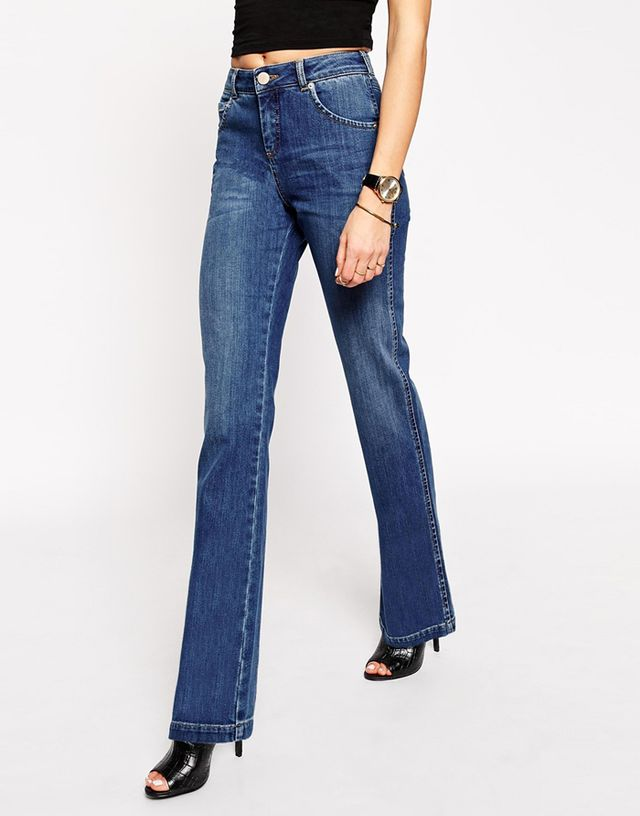 ASOS Slouch Flare Jeans