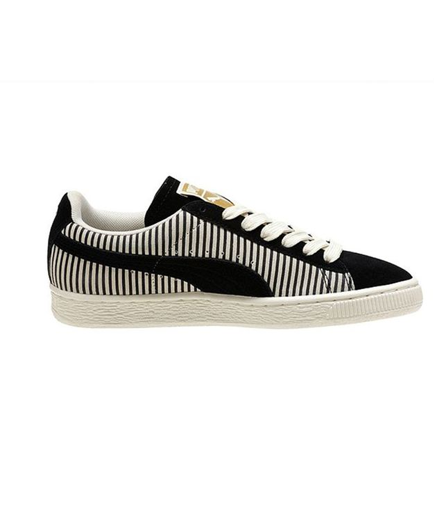 Puma Lo Suede Classics Blocks and Stripes Sneakers