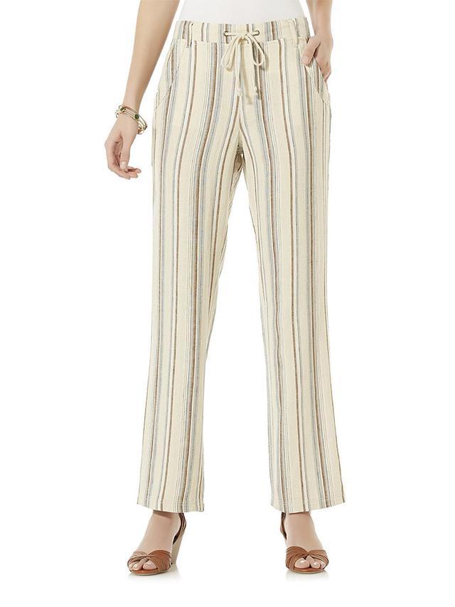 Sears Canyon River Blues Women's Linen Pants