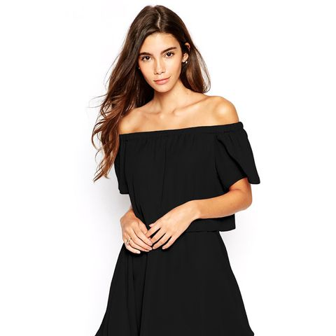 Gypsy Off Shoulder Dress with Short Sleeves
