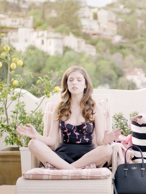Watch Anna Kendrick Lead a Meditation Workshop
