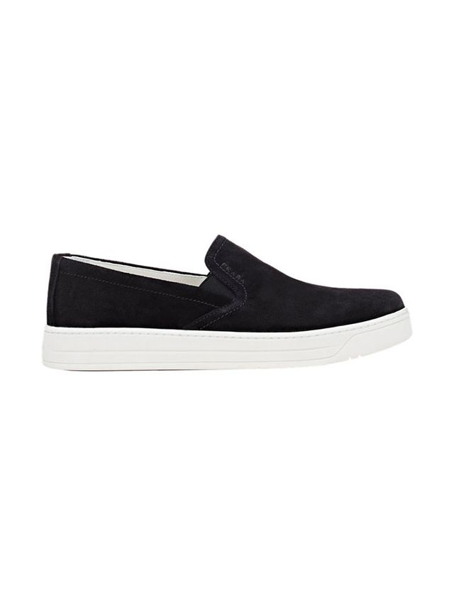Prada Linea Rossa Slip-On Sneakers