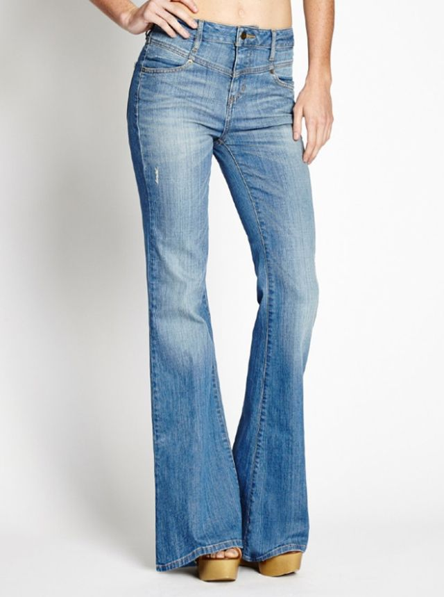 Guess 1981 High-Rise Flare Jeans
