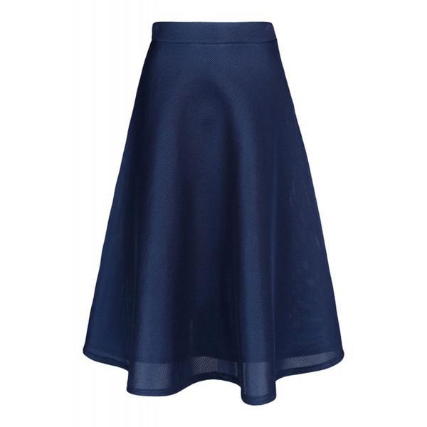 DKNY Perforated Neoprene Skirt