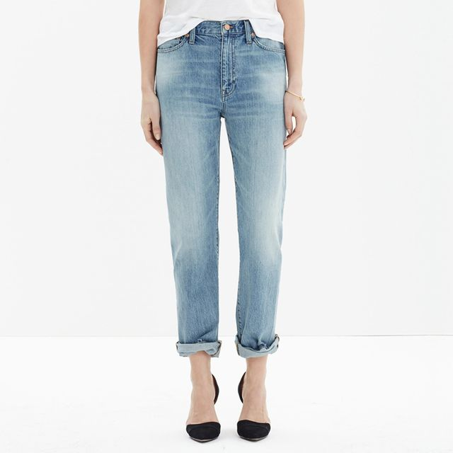 Madewell The Oversized Boyjean Jeans