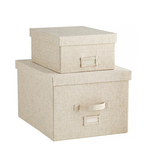 Linen Storage Boxes