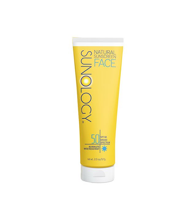 Sunology Natural Sunscreen Face Lotion