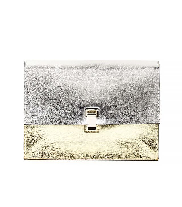 Proenza Schouler Metallic Small Lunch Bag