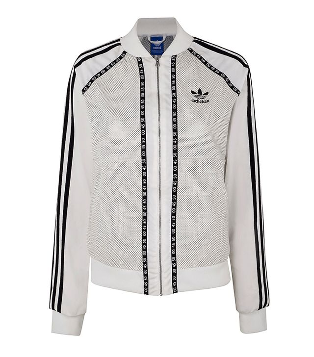 Topshop X Adidas Originals Premium Superstar Track Jacket