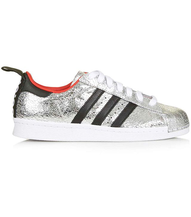 Topshop X Adidas Originals Premium Superstar '80s Trainers