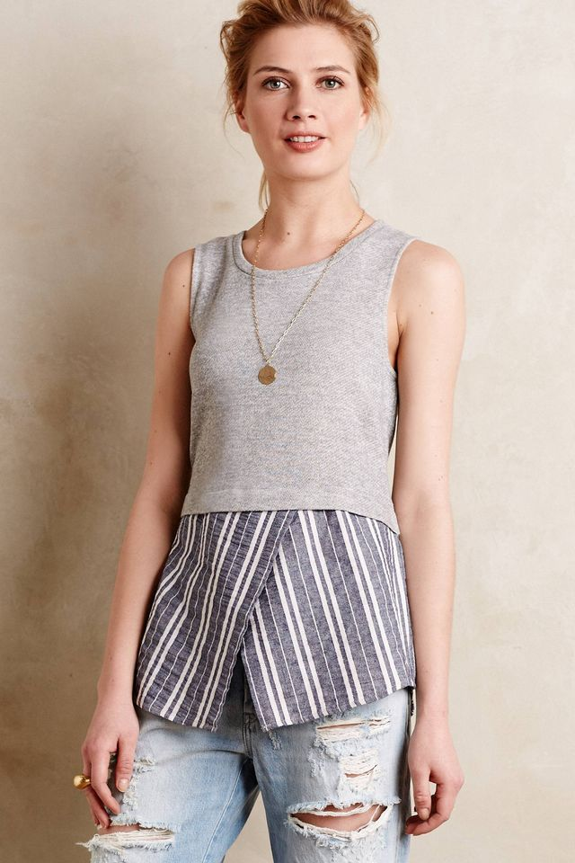 Sunday in Brooklyn Ashton Layered Tank
