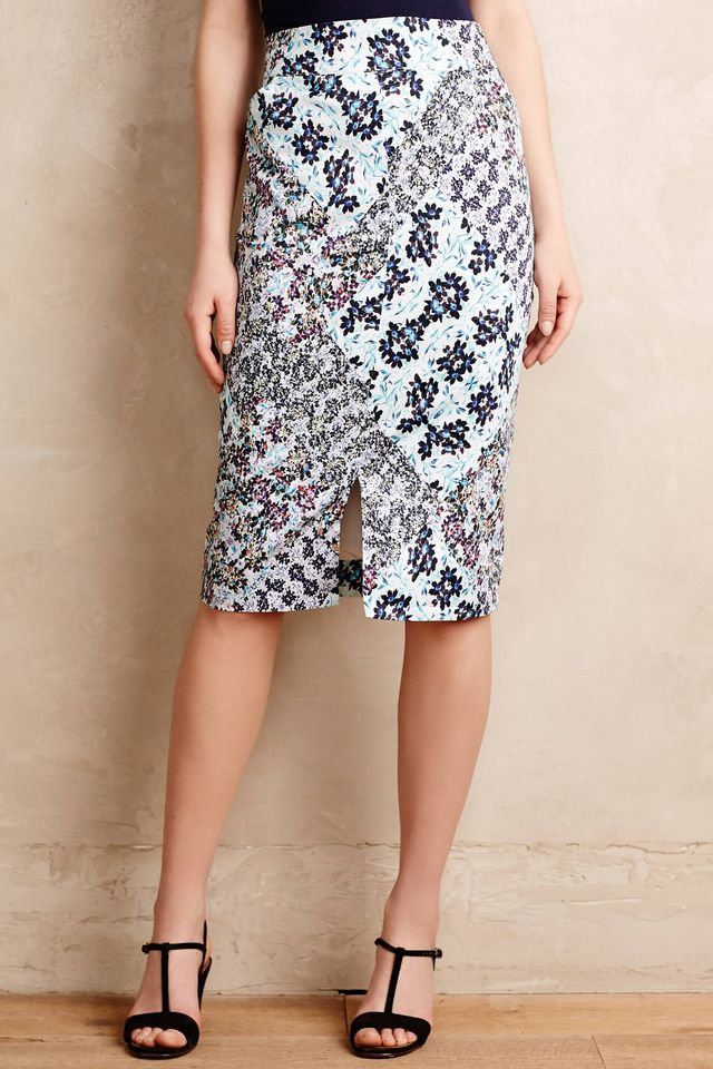 Sam & Lavi Garden Patch Pencil Skirt